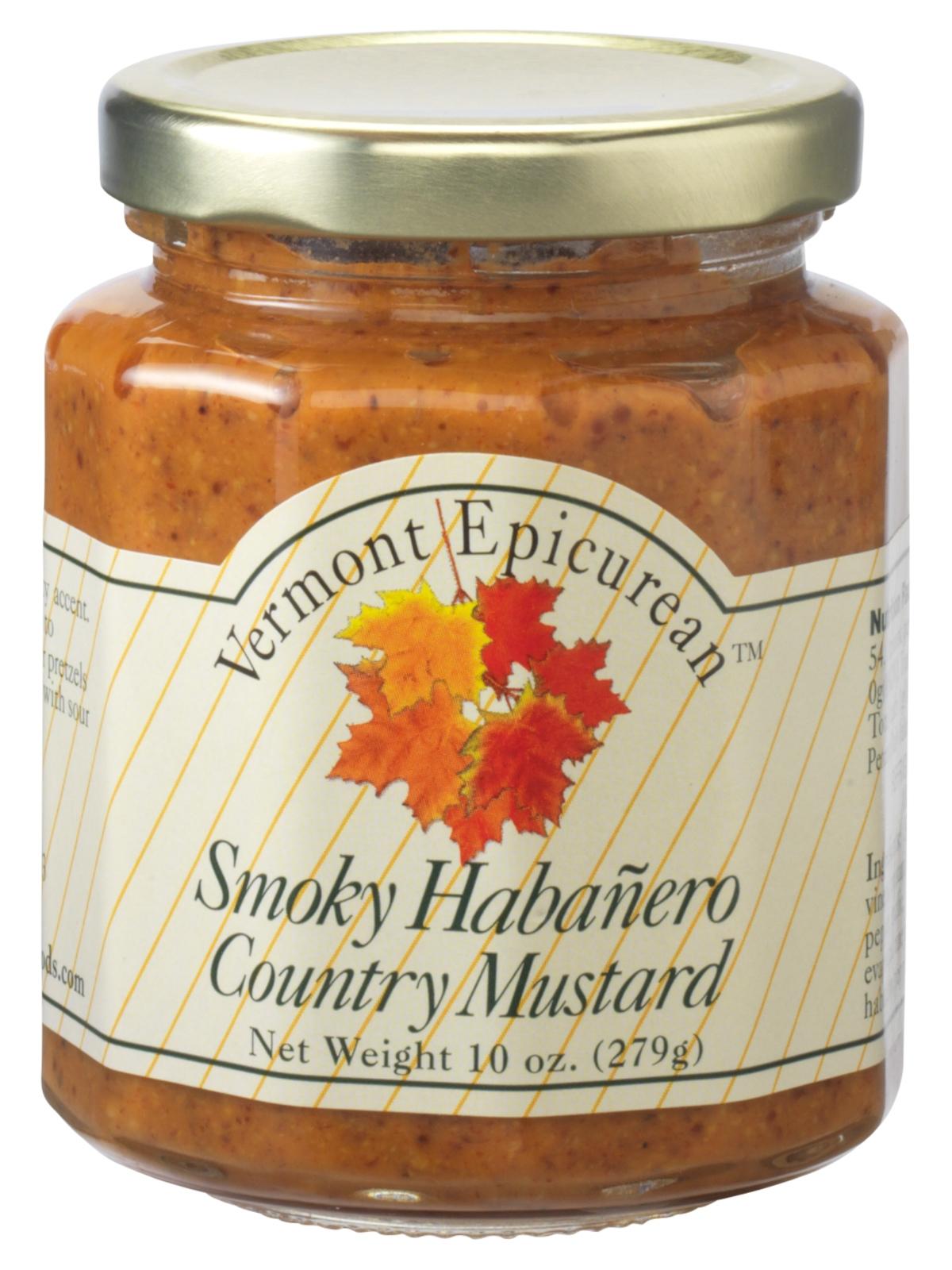 Vermont Epicurean Smokey Habanero Country Mustard