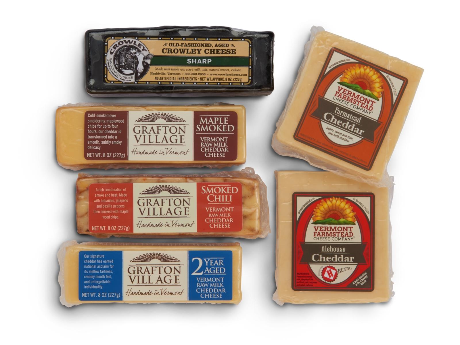 Vermont Cheese Sampler