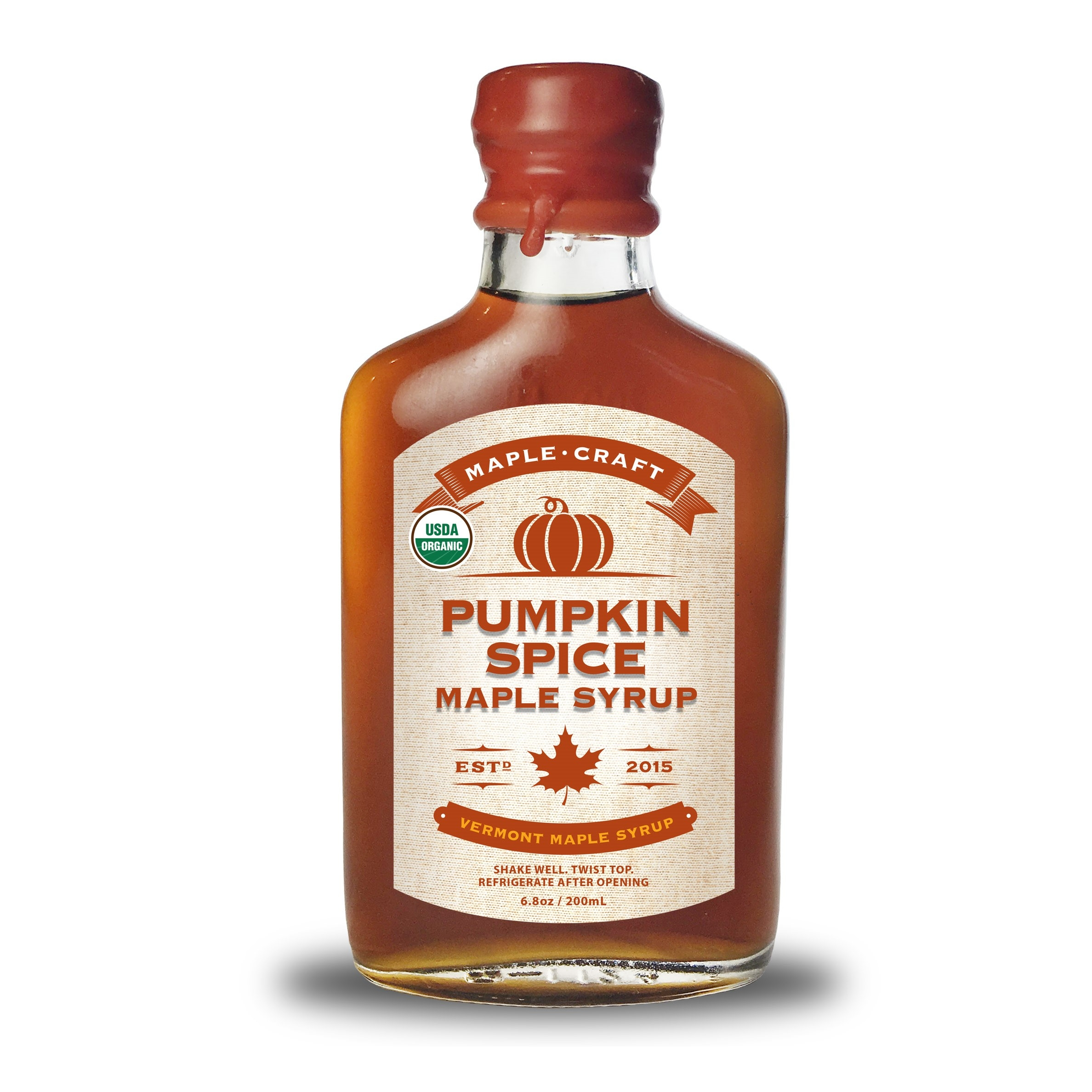 Maple Craft Pumpkin Spice Flavored Maple Syrup