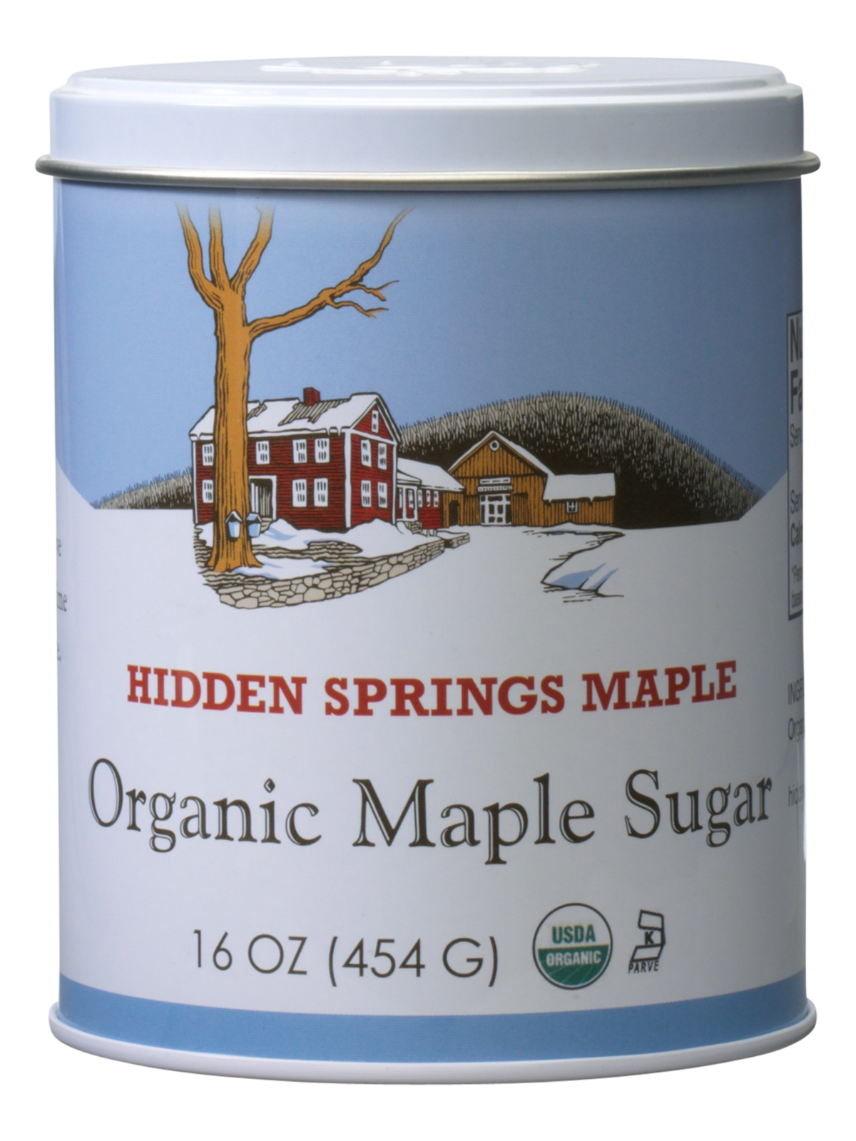 Maple Sugar Tin