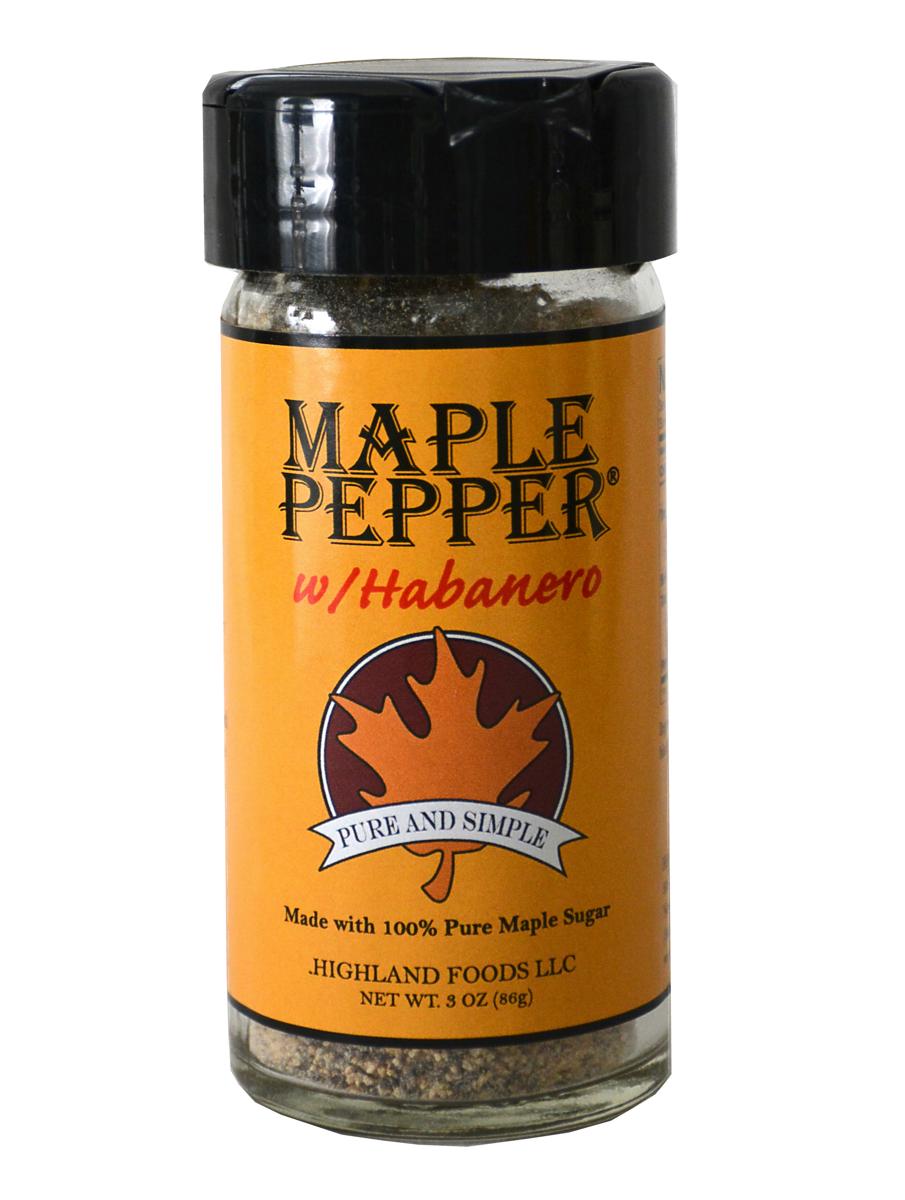 Maple Pepper with Habanero
