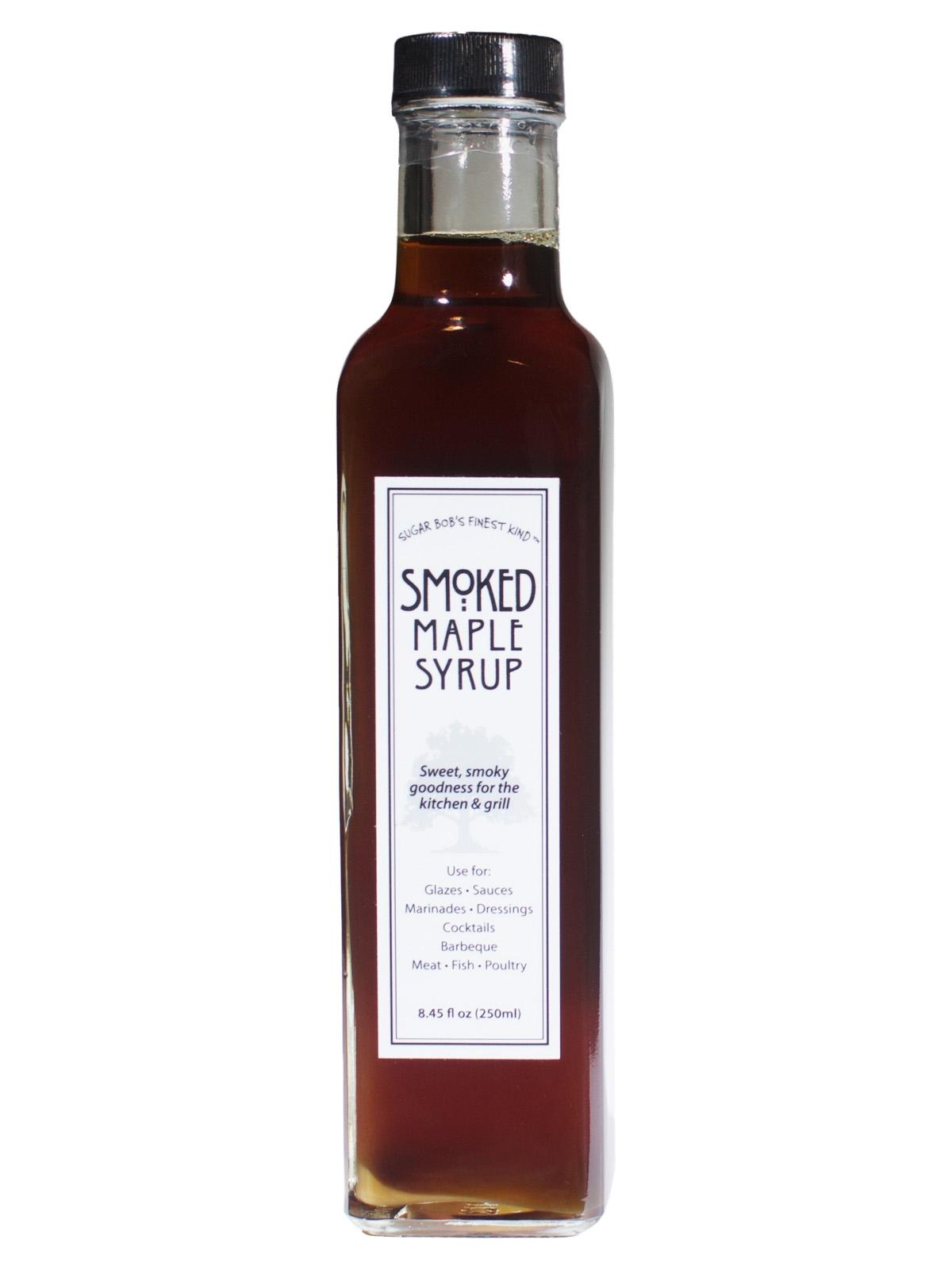 Sugar Bob's Smoked Maple Syrup (8.45 fl oz (250 ml))