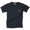 Men's Garment Dyed T Shirt - Black (Small)