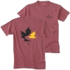 Men's Garment Dyed T Shirt - Brick (Small)