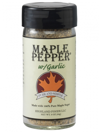 Maple Pepper® with Garlic