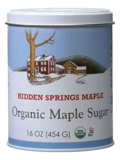 Maple Sugar Tin