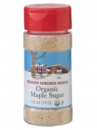 Organic Maple Sugar, 2.8 oz shaker