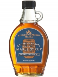 Hidden Springs Maple Bourbon Barrel Aged Maple Syrup