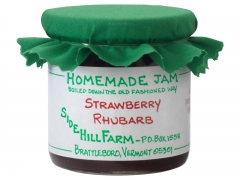 Sidehill Farm Strawberry Rhubarb Jam