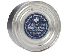 3.5 oz tin Wild Maine Blueberries