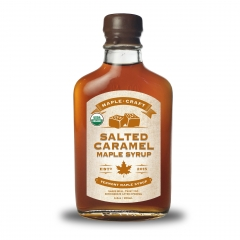 Maple Craft Salted Caramel Flavored Maple Syrup