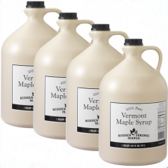Case of 4 White Label Gallons (Gallon, Amber Rich)