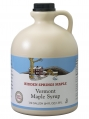 Maple Syrup Plastic Jug (Half gallon,  Golden Delicate)