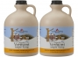 Plastic Jug, Organic Maple Syrup (Gallon,  Golden Delicate)